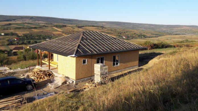 Constructii case din lemn