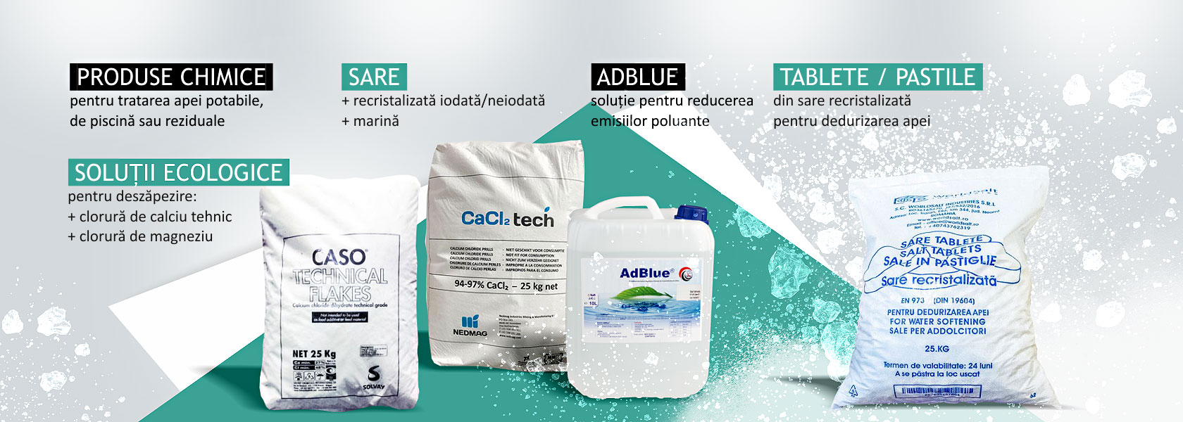 tablete pastile de sare recristalizata dedurizare apa