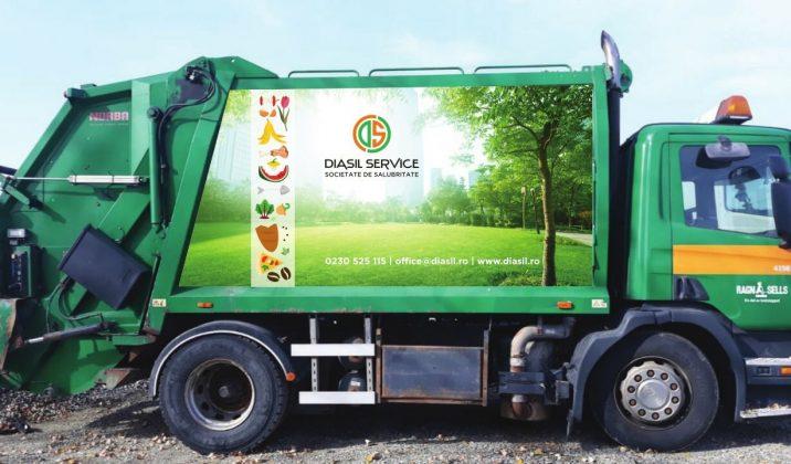 masini de gunoi