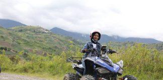 ATV pe munte