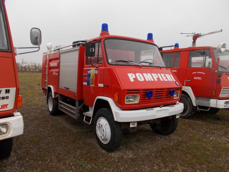 Autospeciala STEYR 590