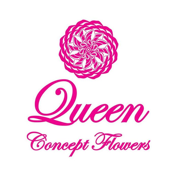 Logo Queen Concept Flowers