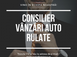 Consilier Vanzari Auto Mercedes Benz Restaco Suceava