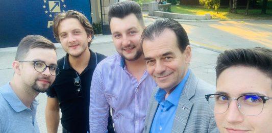 Selfie TNL Radauti cu Ludovic Orban