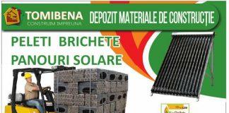 depozit materiale constructii peleti brichete panouri solare