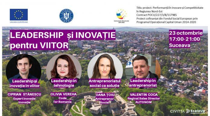 Leadership si inovatie pentru viitor in Suceava