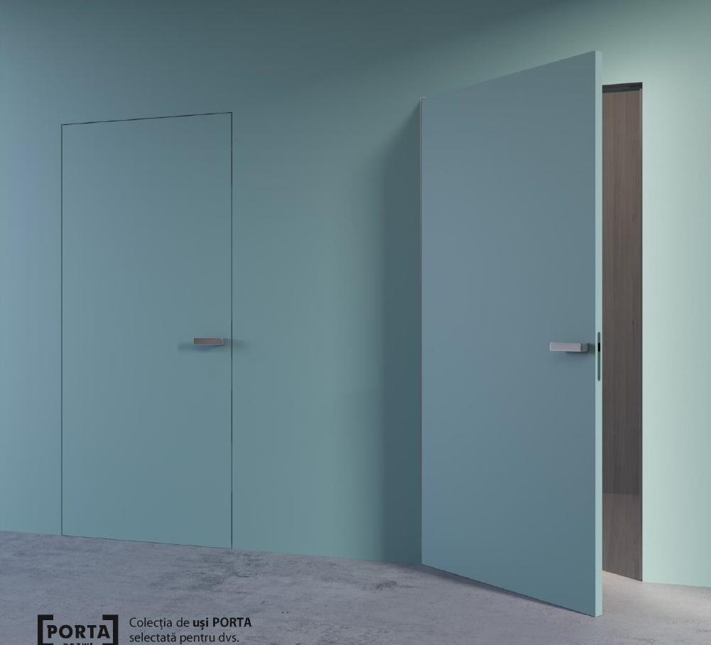 usi de interior ascunse HIDE Porta Doors