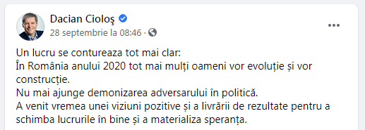 Dacian Ciolos parere