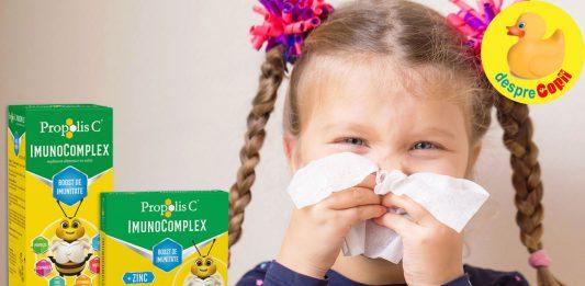 Întărește-ți sistemul imunitar cu Propolis C Imunocomplex